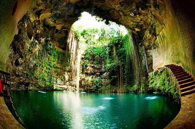 6 niños detienen actividades de empresa porcícola en Anillo de los Cenotes en Yucatán
