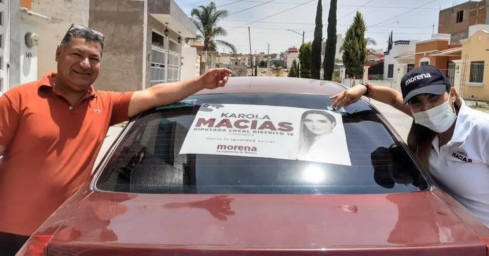 Karola Macías escucha las necesidades de vecinos del distrito 16