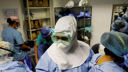 Mueren 596 personas por coronavirus en las últimas 24 horas