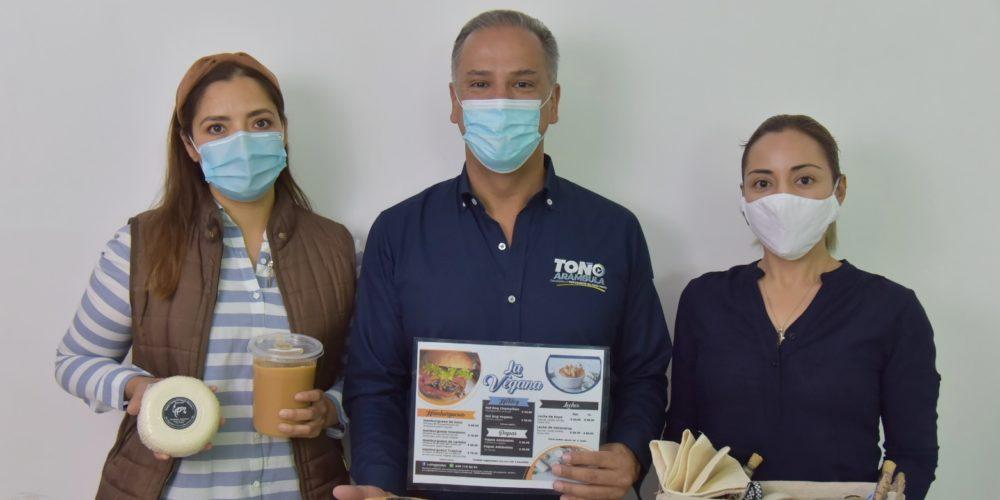 Toño Arámbula anuncia programa para la creación de huertos comunitarios