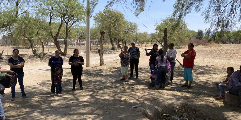 Comunidad de Tepezalá tiene 8 meses sin agua