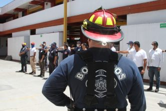 PC de Aguascalientes capacita a bomberos del interior del estado