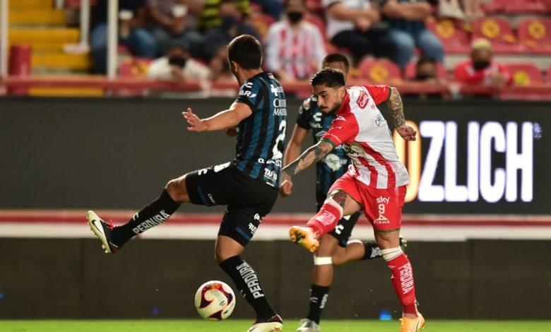 Necaxa y Querétaro empatan sin goles