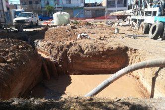 CCAPAMA pide tomar precauciones por obras de perforación de pozo