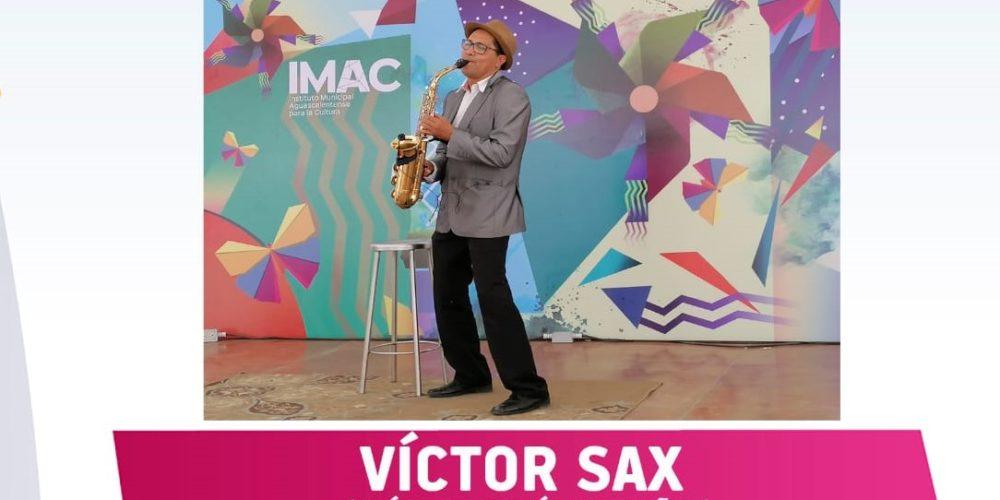 No te pierdas el concierto virtual de Víctor Sax