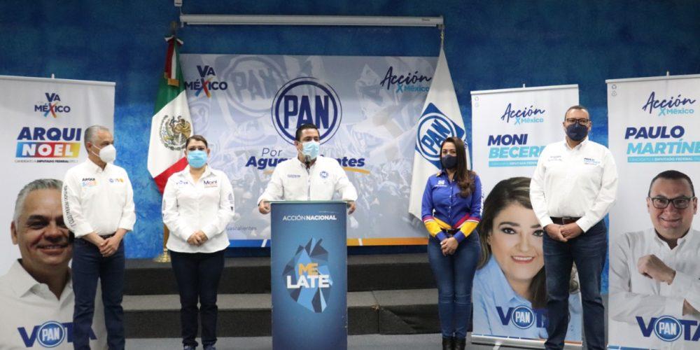 PAN se declara listo para la contienda electoral en Aguascalientes