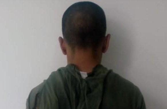 Detienen a sujeto por robar apagadores y cableado de una casa de muestra en San Gerardo