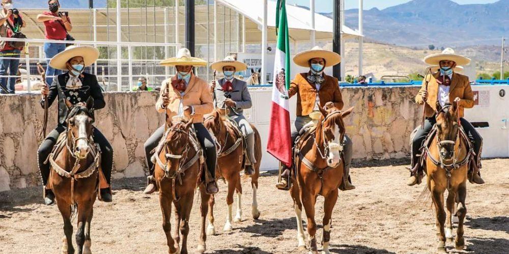 Calvillo inaugura su Congreso y Campeonato Estatal Charro