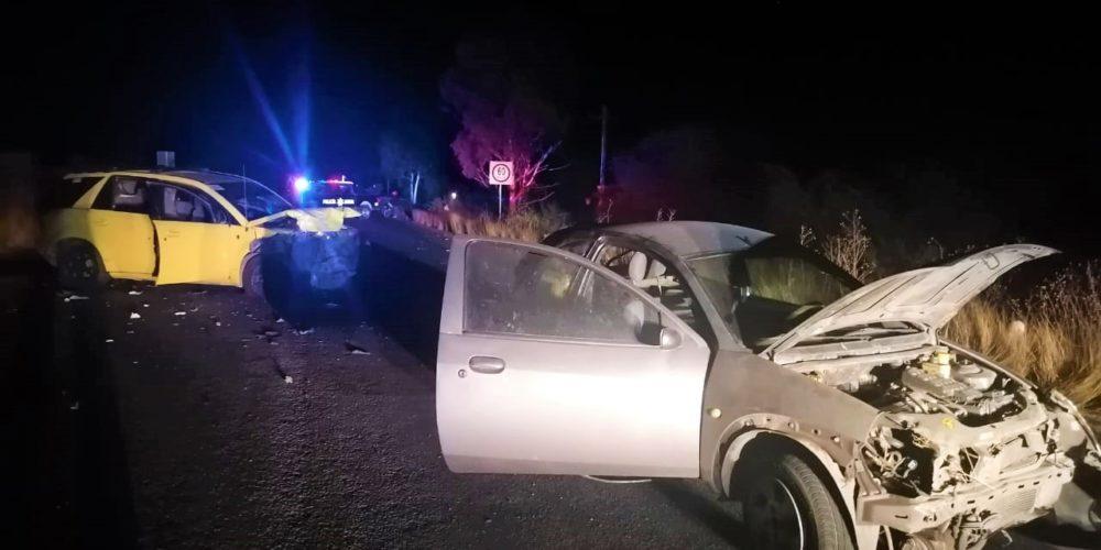 1 muerto y 5 heridos deja choque en El Llano