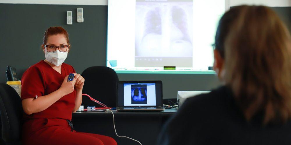 Ofrece UAA terapias pulmonares para pacientes Post Covid-19