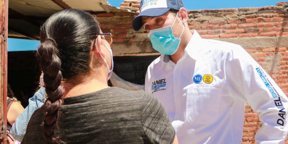 Propone Daniel Romo Urrutia facilitar espacios para la participación ciudadana en Calvillo