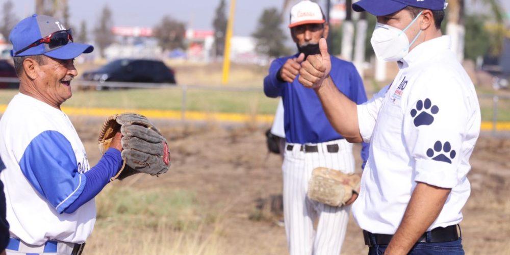 Leo Montañez apuesta por el fomento al deporte