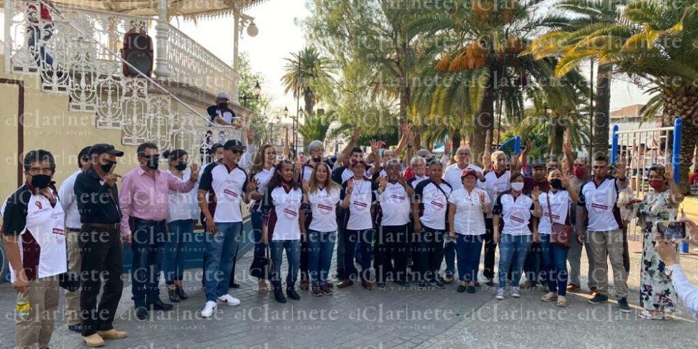 Arrancan campaña candidatos de Morena del Frente Obradorista en Aguascalientes