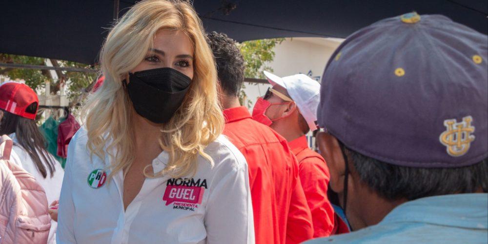 Norma Guel va por reforzar la vigilancia en tianguis