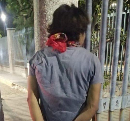 Atrapan a José por provocar daños a Telmex en la Ferronales