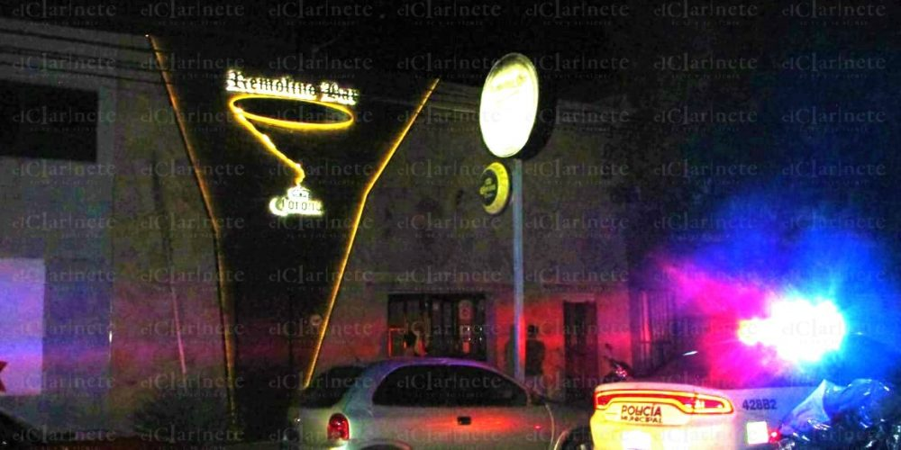 1 herido y 5 detenidos deja riña afuera del Bar El Remolino