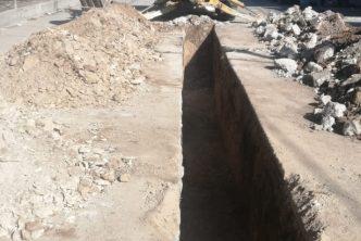 Habrá cierres viales por obras de rehabilitación hidráulica en el Cerrito de la Cruz