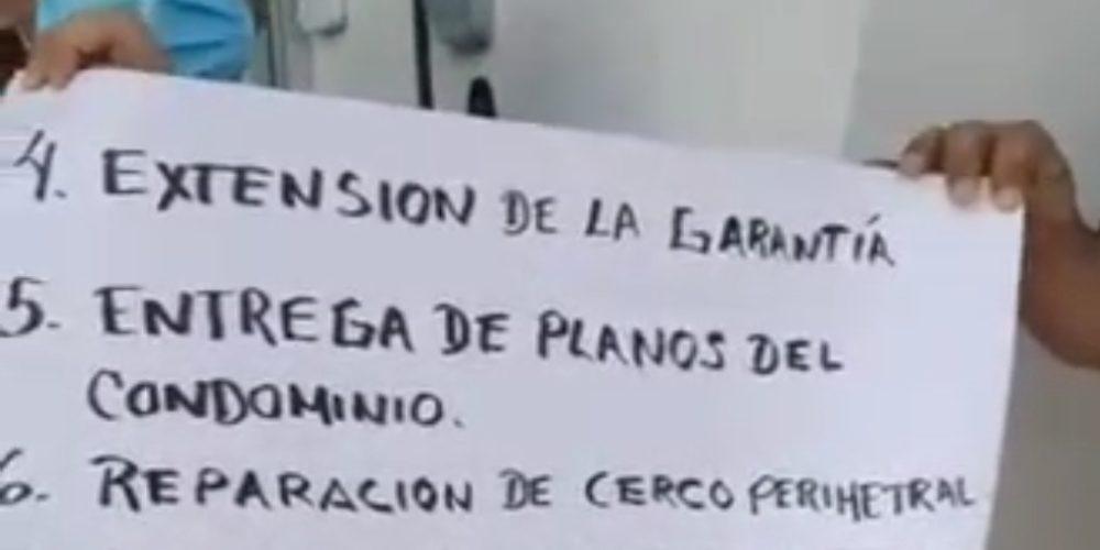 (Video)Se manifiestan vecinos de Ronda Residencial en Aguascalientes