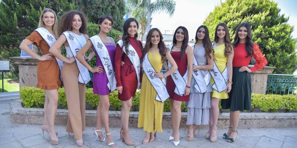 Ellas son las candidatas a reina de la feria de San Marcos 2021