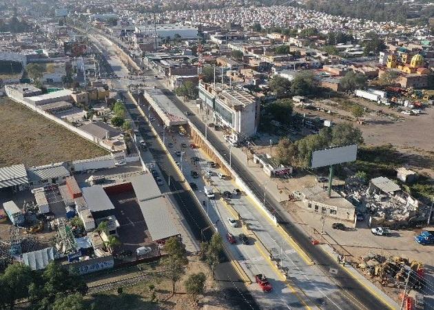 Construcción de paso a desnivel de 'Pulgas' arrancará este mes de abril