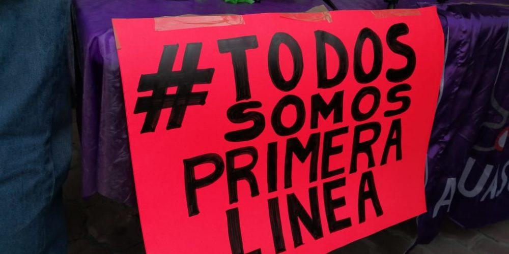 Médicos de Aguascalientes no descartan otra manifestación para exigir vacunas