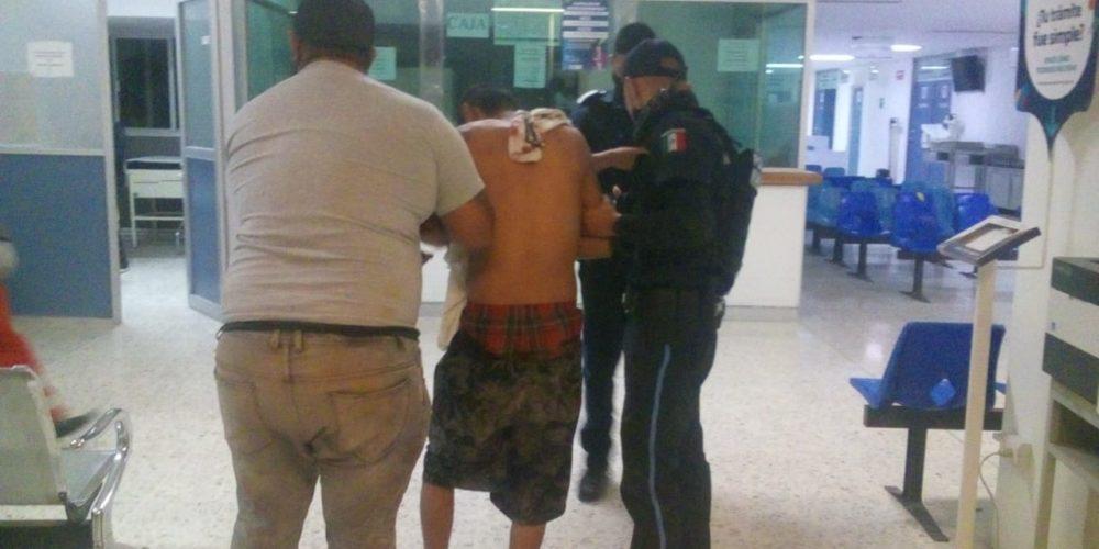 Atacan con un machete a un hombre en Anexo Palomino