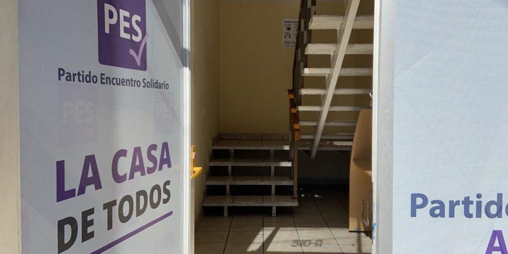 Roban sede del PES en Aguascalientes