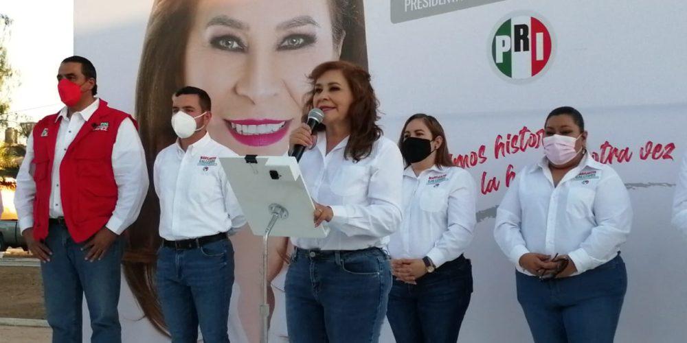 Vamos a fortalecer la seguridad con un proyecto integral: Margarita Gallegos