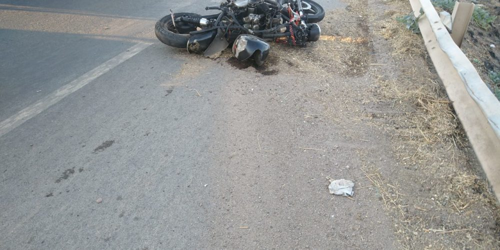 Fallece motociclista tras caída en Pabellón de Arteaga