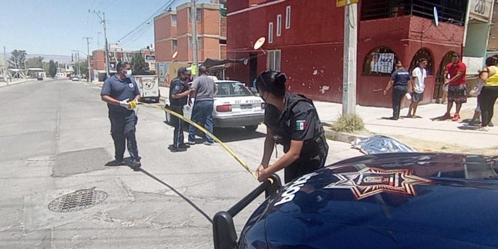 Muerte sorprende a sexagenario en calles del fraccionamiento Morelos I