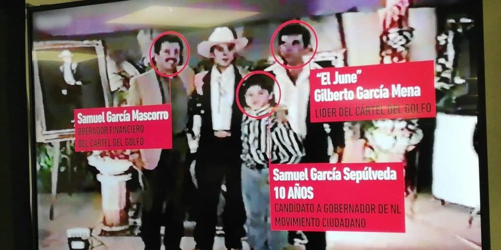 """De la Garza difunde video de Samuel García y su familia con """"El June"""" del Cártel del Golfo"""