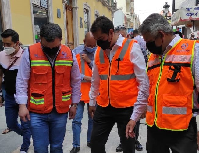 Rehabilitan red de alcantarillado de la zona centro de Aguascalientes