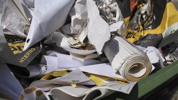 """Piden ambientalistas de Aguascalientes reciclar """"basura electoral"""""""
