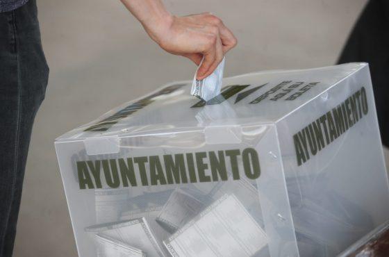 Presenta IEE boleta electoral para la elección de diputaciones locales y ayuntamientos