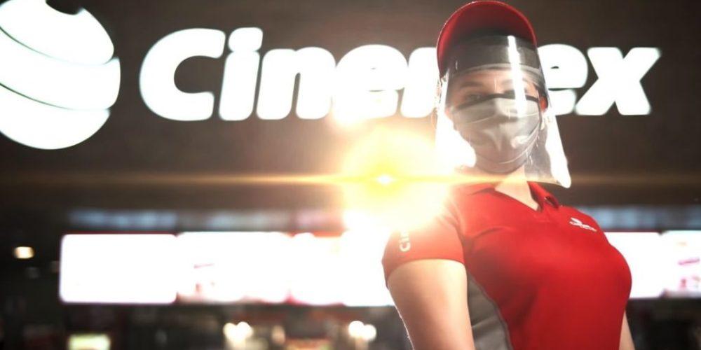 Cinemex anuncia la reapertura de 153 complejos en el país
