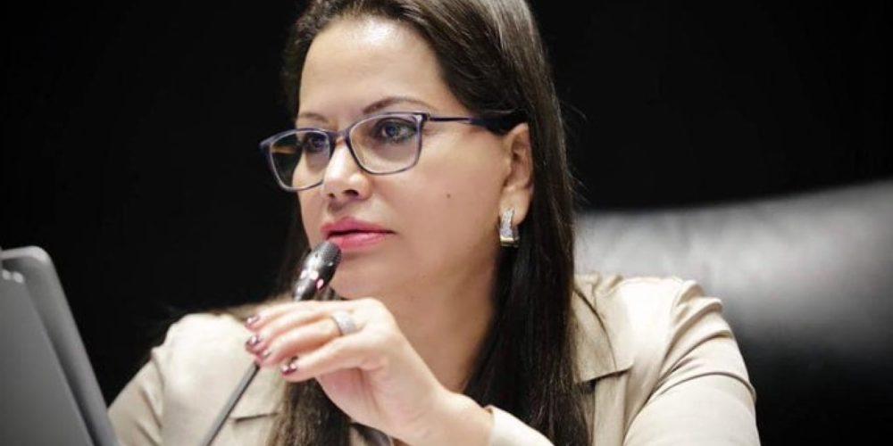 """(Video)Senadora de Morena """"balconea"""" encargo de AMLO para elecciones de Jalisco y NL"""