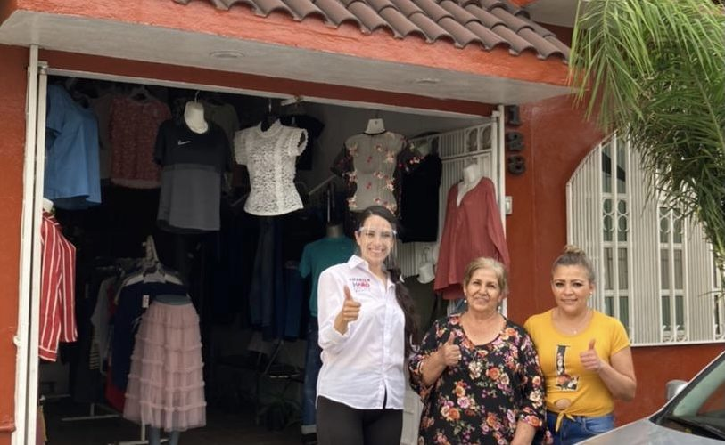 Mabel Haro visita Solidaridad II