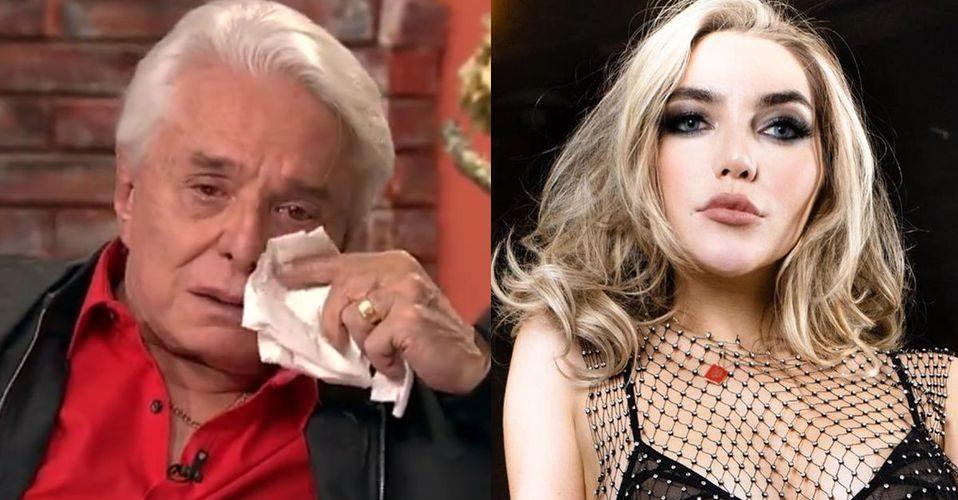 """Degenerado"": Frida Sofía reacciona a lágrimas de Enrique Guzmán"