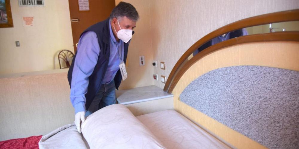 Municipio de Aguascalientes realiza inspecciones de seguridad e higiene en hoteles