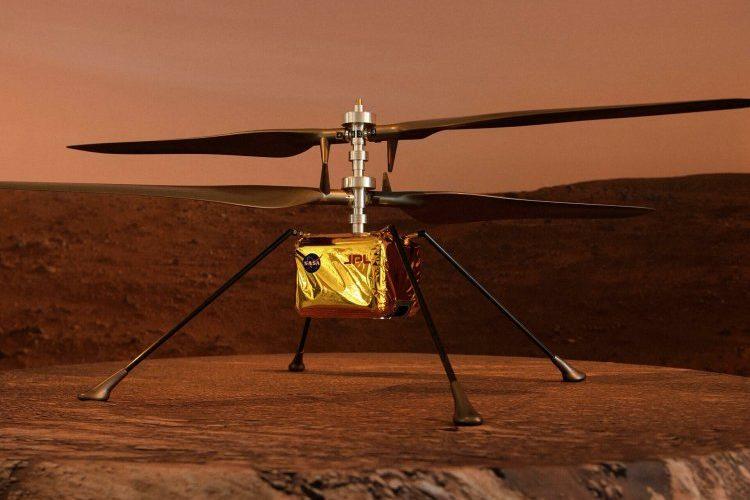 (VIDEO) Helicóptero Ingenuity vuela por segunda vez en Marte