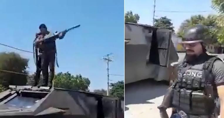 Ejército y Guardia Nacional abandonan población de Aguililla tras haber sido tomada por el CJNG