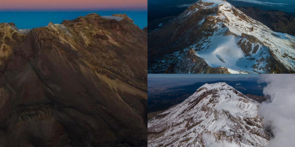 Declaran extinto el glaciar Ayoloco, en la cumbre del Iztaccíhuatl