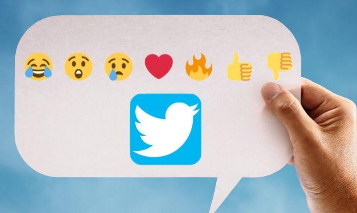Twitter planea añadir reacciones con emoji a los tuits