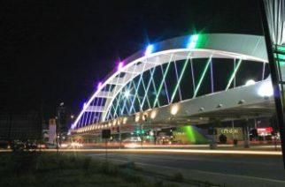 Piden extremar precauciones por trabajos de mantenimiento en alumbrado del Puente Bicentenario