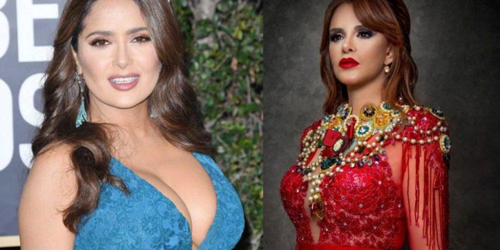 Confirman relación de Salma Hayek con alto ejecutivo de Televisa