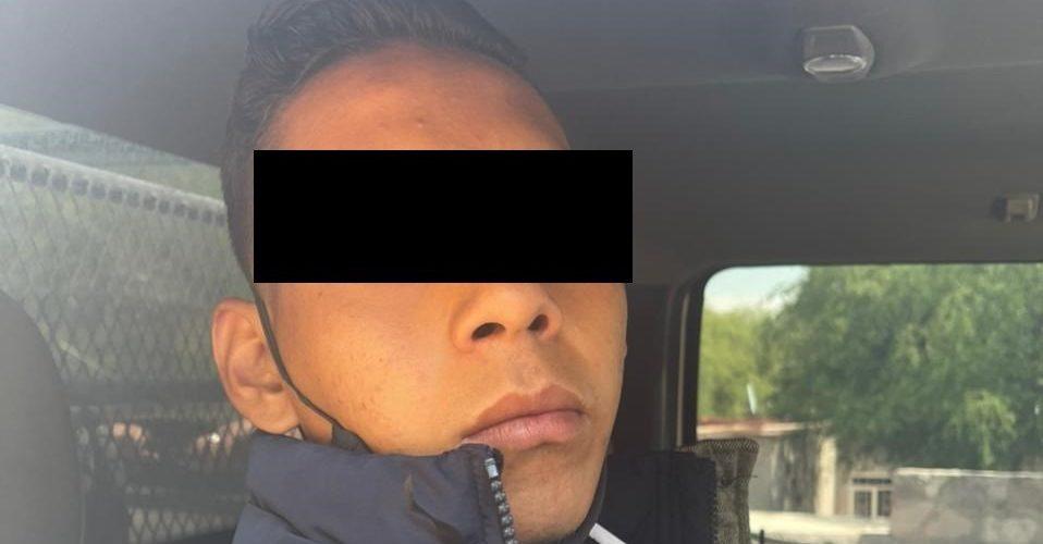 Luis Manuel se paseaba campante con marihuana en su poder