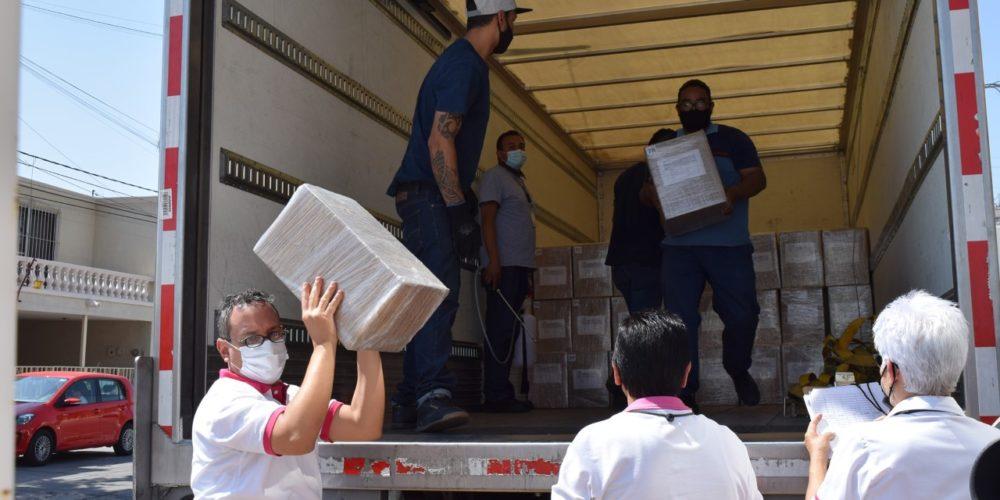 INE Aguascalientes recibe Listados Nominales para Elecciones 2021