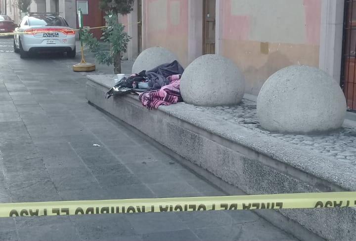 Encuentran sexagenario muerto a unos metros de Palacio de Gobierno en Aguascalientes