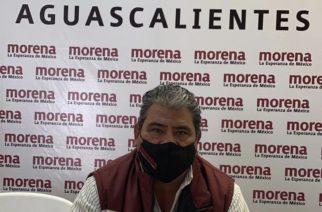 Hay respaldo a protestas al interior de Morena en Aguascalientes : Martínez