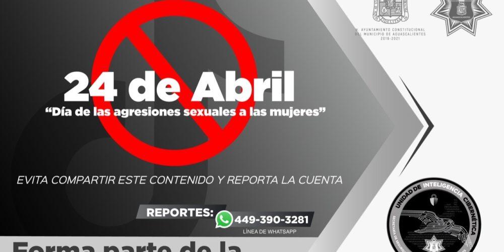 """Alertan por falsa información en """"Tik Tok"""" donde promueven el""""Día de las agresiones sexuales a las mujeres"""""""